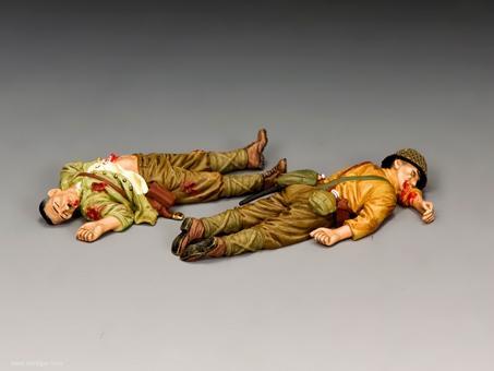 Gefallene Japanische Soldaten - Set 2