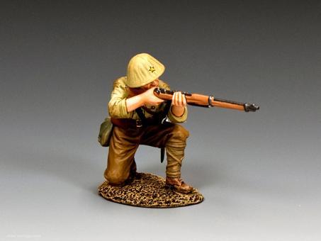 Soldat - kniend, feuernd