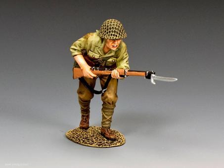"""Soldat mit aufgepflanztem Bajonett """"Cold Steel #2"""""""