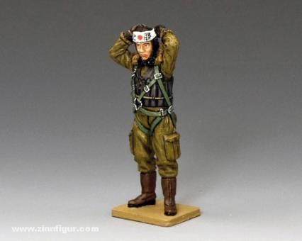 Pilot der Kaiserlichen Japanischen Marine mit Stirnband