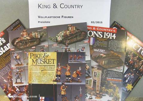 King & Country Leaflets