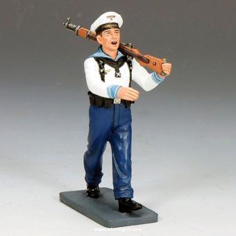 Kriegsmarine Matrose, singend