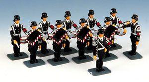 King&Country: SS-Musik-Korps, Halt, Parade (11 Figuren), 1933 bis 1945