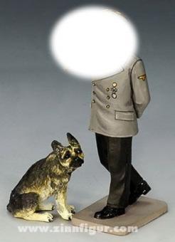 King&Country: Reichskanzler mit Schäferhund, 1933 bis 1945