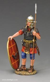 King&Country: Römischer Auxiliar mit Speer und Schild, 6. Jh.v.Chr. bis 6. Jh.