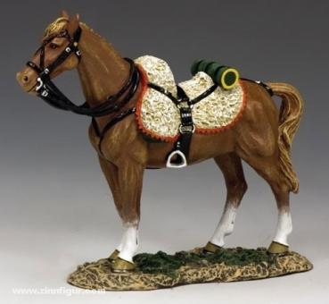 Stehendes Husaren-Pferd