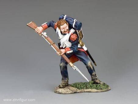 Grenadier der Alten Garde - mit Bajonett zustoßend