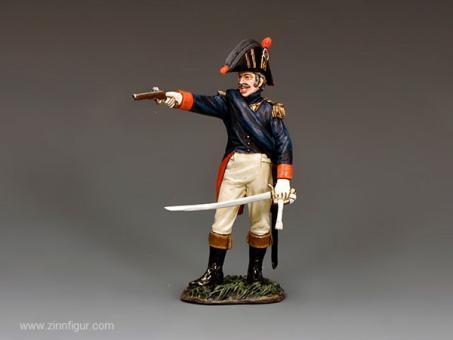 Offizier mit Pistole - Alte Garde