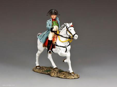 Napoleon zu Pferd (Chasseur Oberst Uniform)