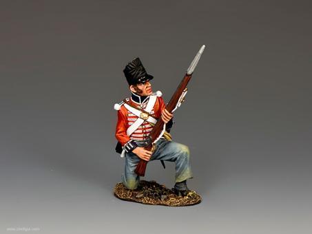 Kniender Musketier
