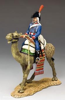 Kamel-Soldat mit Gewehr