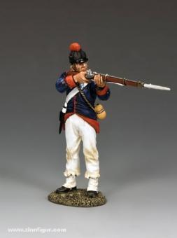 Soldat, feuernd