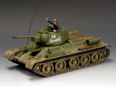 "King&Country: Panzer T-34/76 1943 ""SA Rodinu!"", 1943 bis 1945"