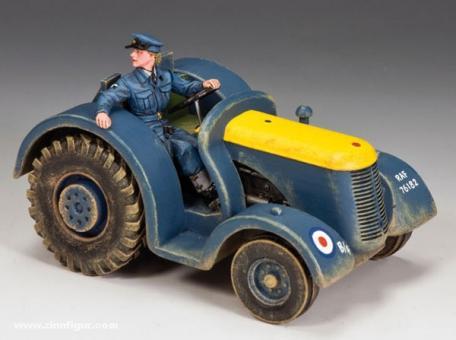 RAF Flugfeld Zugmaschine