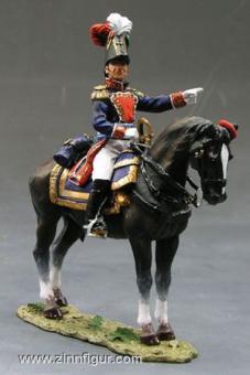 General Santa Anna zu Pferd