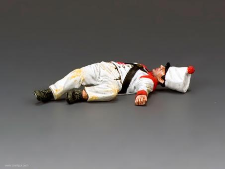 Lying Dead Mexican Soldier