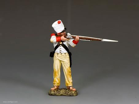 Mexican Soldier Standing Firing