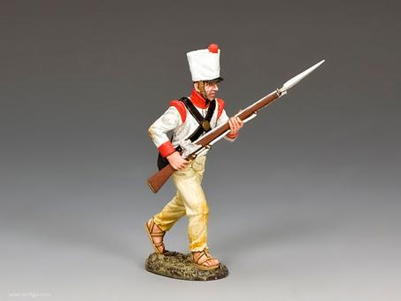 Mexican Soldier Advancing
