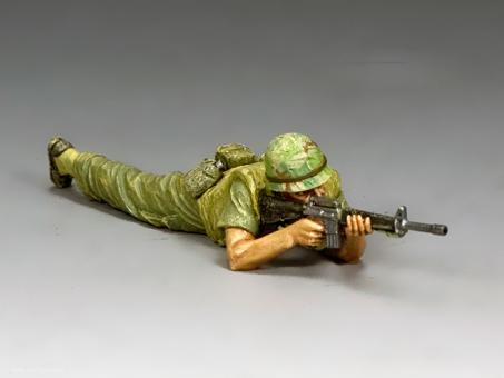 Marine Lying Prone Firing
