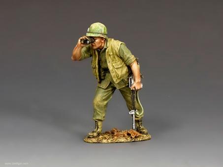 Marine NCO with Binoculars