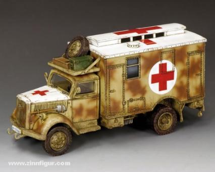 Opel Blitz Ambulanz (mit Tarnbemalung)