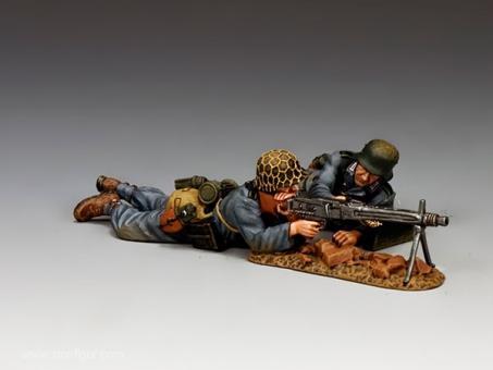 MG Trupp (zwei Soldaten)