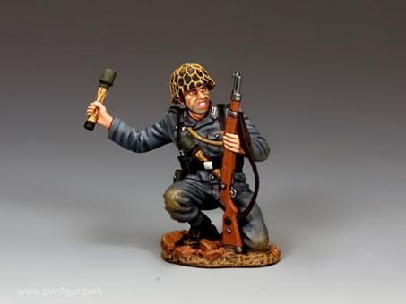 Kniender Panzergrenadier