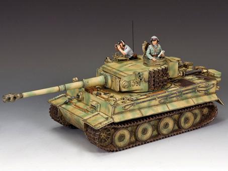 Michael Wittmanns erster Tiger-Panzer