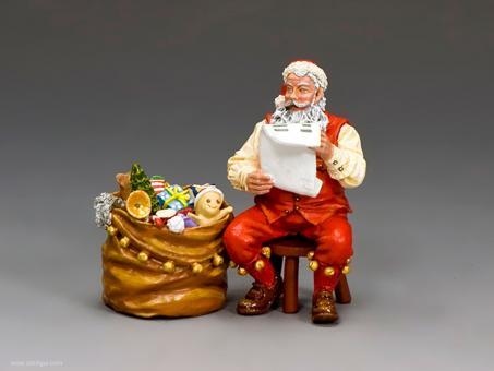 Weihnachtsmann am Weihnachtsabend