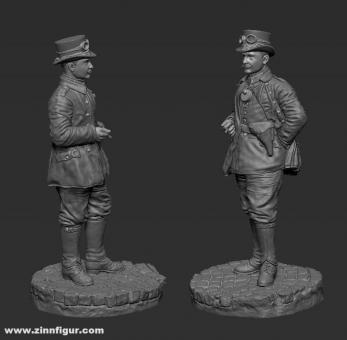 Preußischer Kraftfahrer - 1915