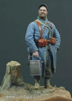 Infanterist (Poilu) bei Verdun