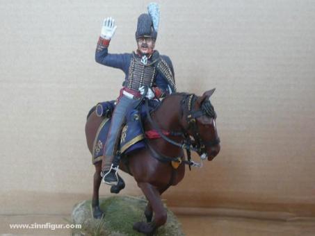 Diverse Hersteller: Offizier der Royal Horse Artillery zu Pferd, 1812 bis 1815