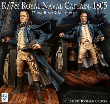 Kapitän der Royal Navy - 1805