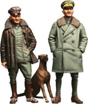 Manfred and Lothar von Richthofen with Moritz