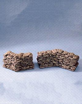 Interlocking Sandbag Sections - Zig-Zag