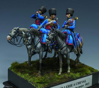 Trompeter - Chasseurs à Cheval de la Garde - Wagram 1809
