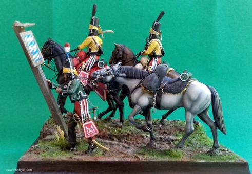 Hussards-Guide d'Augereau - Italienarmee 1798