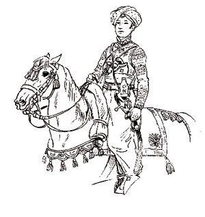 Roustan, premier Mameluk de l'Empereur