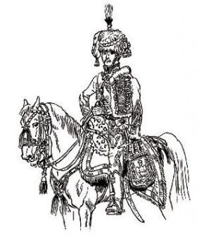 Eugène de Beauharnais en colonel de chasseur