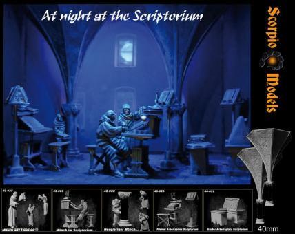 Nachts im Scriptorium