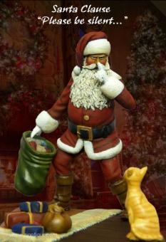 """Weihnachtsmann """"Sei bitte leise..."""""""