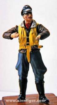 Luftwaffe pilot in flying uniform #1