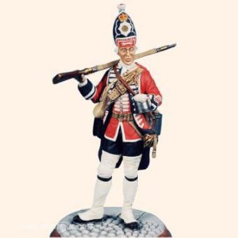 Grenadier, 2. Coldstream Regiment der Garde zu Fuß