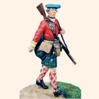 Private Highland Regiment of Foot 1747