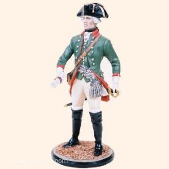 Prussian Mtd Feldjäger Officer 1750s