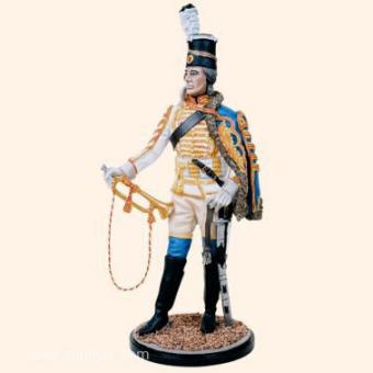 Prussian Hussar Trumpeter 1750s