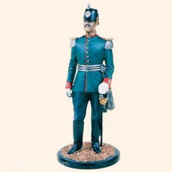 Offizier, Garde Jäger Bataillon