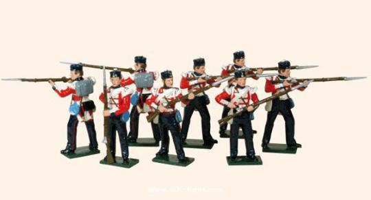 Britische Infanterie