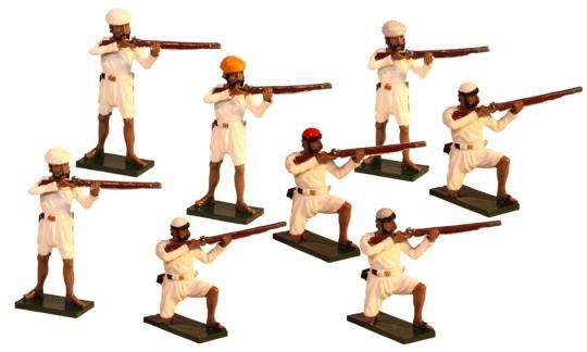 Indische Rebellen - feuernd