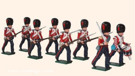 Coldstream Guards vorgehend